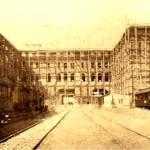 Construction of Haydarpaşa Terminal