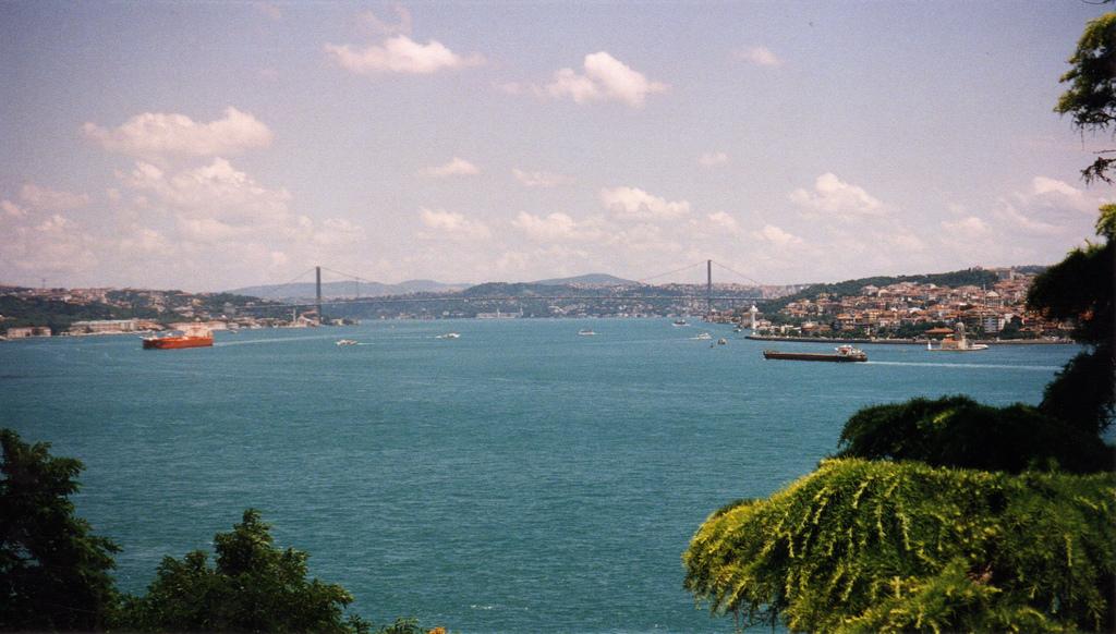Topkapı Palace and Bosphorus